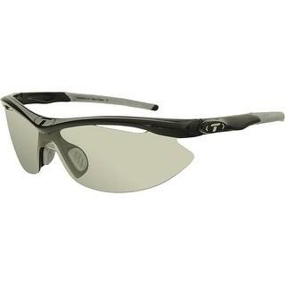 Tifosi Men's Slip 0010302131 Grey Black Semi-Rimless Sunglasses