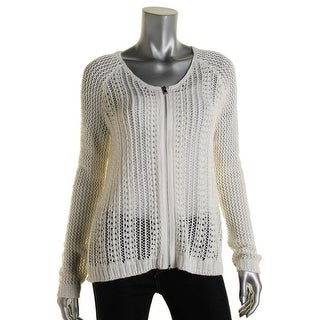 Rachel Rachel Roy Womens Knit Long Sleeves Sweater