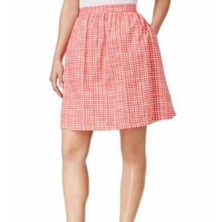 Tommy Hilfiger NEW Red Women's Size Medium M A-Line Gingham Skirt|https://ak1.ostkcdn.com/images/products/is/images/direct/27840cc6f80c2ff2d47bac6c0d168fddbc6f347c/Tommy-Hilfiger-NEW-Red-Women%27s-Size-Medium-M-A-Line-Gingham-Skirt.jpg?impolicy=medium