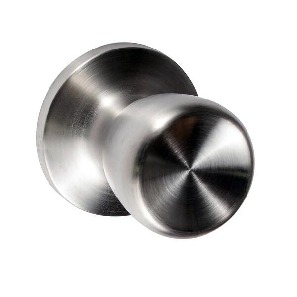Build Essentials DHDW100TL Liard Single Dummy Door Knob - Satin Stainless