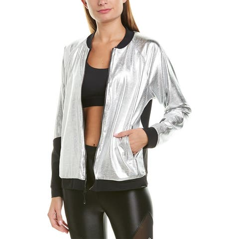 Koral Activewear Gilded Chromoscope Jacket - SLRB SILVER/BLACK