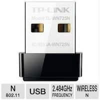 Tp-Link Tl-Wn725n N150 Wireless Wi-Fi Nano Usb Adapter