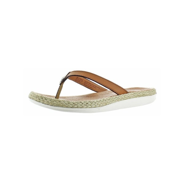 Tommy Bahama Wedge Flip Flops