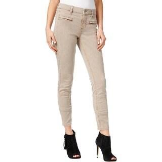 Guess Womens Skinny Jeans Denim Gray Wash (Option: almondine pipe overdye wash - 34)