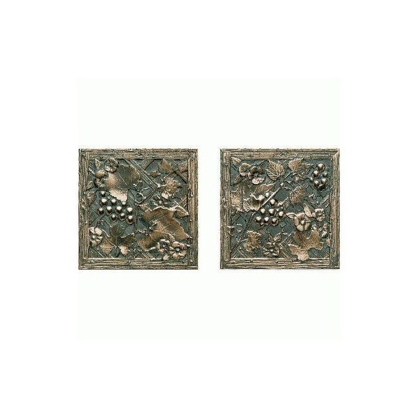 Shop Daltile MSDECOBP Metal Signatures X Decorative Accent - 6x6 accent tiles
