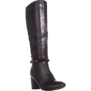KS35 Galee Mid-Calf Dress Boots, Black