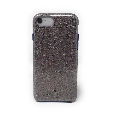 Kate Spade New York Multi Glitter French Navy Protective Case for iPhone 8 / iPhone 7 / iPhone 6