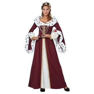 Royal Storybook Queen Costume - Multi (Option: S)