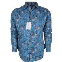 Robert Graham BEARDSLEY Floral Paisley Cotton Classic Fit Sports Shirt