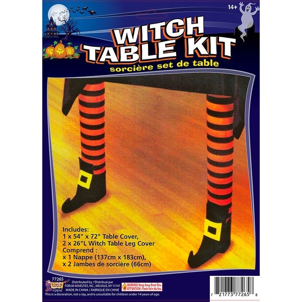 Witch Leg Table Halloween Décor Kit