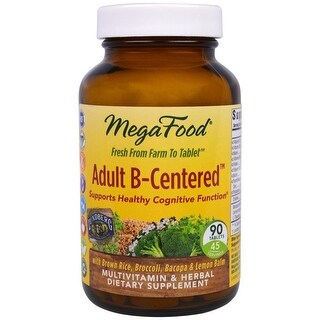 MegaFood Adult B-Centered - 90 Tablets