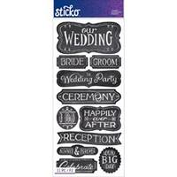 Wedding - Sticko Stickers