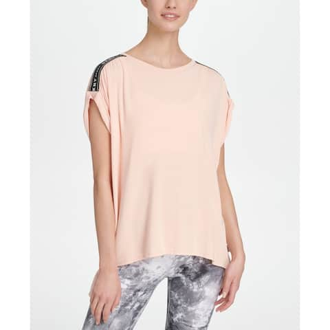 Dkny Sport Women's Relaxed T-Shirt, Pink, S