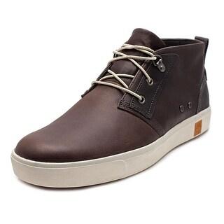 Timberland Amherst Men Round Toe Leather Chukka Boot