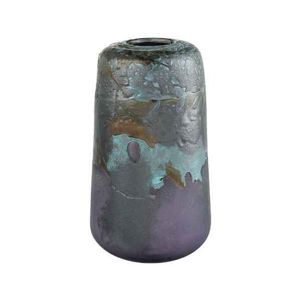 "13"" Ocean Inspired Blue Grotto Vase - N/A"