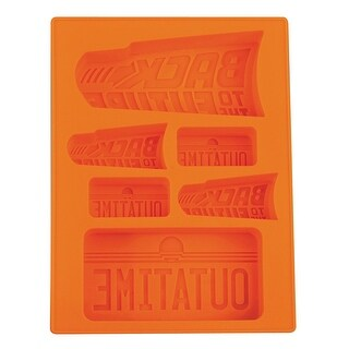 Back to the Future Silicone Mold for Ice, Chocolate, Jello, Crayons & More! (2-Pack)