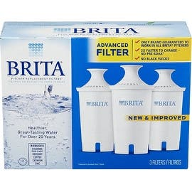 Brita Water Pitcher Replacement Filters, White 3 ea|https://ak1.ostkcdn.com/images/products/is/images/direct/278ed8779e3afa11fd4953427f7e31f755d5becf/694369/Brita-Water-Pitcher-Replacement-Filters%2C-White-3-ea_270_270.jpg?impolicy=medium
