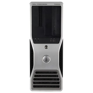 Refurbished Dell Precision T3500 Tower Xeon W3530 2.8G 4G DDR3 500G DVD NVS295 Win 7 Pro 64 Bits 1 Year Warranty - Black