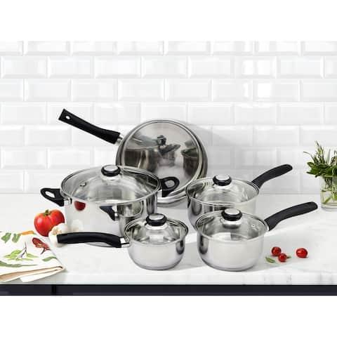 Saint Birch Stainless Steel Cookware Set