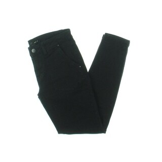 Aqua Womens Casual Pants Twill Flat Front