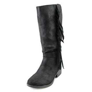 Steve Madden JPonderr Youth Round Toe Synthetic Mid Calf Boot