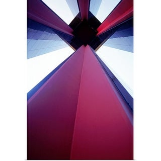 """""""architectural background"""" Poster Print"""