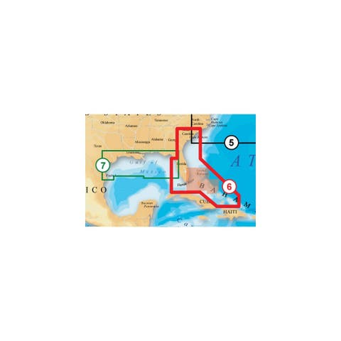 Navionics Platinum Plus Southeast and Bahamas - MSD/906PP SD/906PP Platinum Plus US Southeast / Bahamas Map