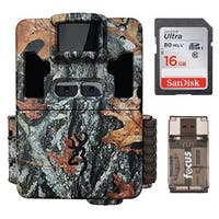 Browning Dark Ops Pro XD Dual Lens Trail Camera with 16GB Card and Reader - Camouflage