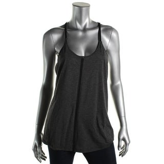Alo Womens Sleeveless Racerback Shirts & Tops - M