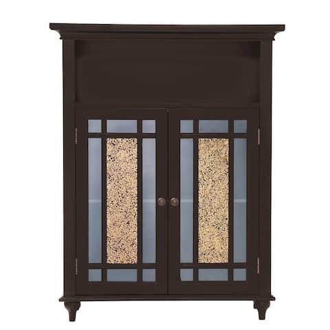 Jezzebel Double-door 3-shelf Floor Cabinet by Elegant Home Fashions