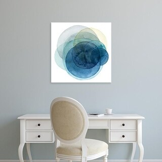 Easy Art Prints Grace Popp's 'Evolving Planets I' Premium Canvas Art