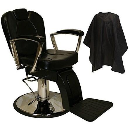 LCL Beauty Classic Style Hydraulic Lift Reclining Salon Chair