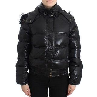 Cavalli Cavalli Black puffer jacket/vest