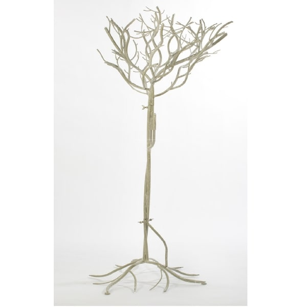 """52"""" Natural Metal Artificial Tree -White - N/A"""
