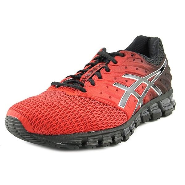 Asics Gel-Quantum 180 2 Men Round Toe Synthetic Red Running Shoe