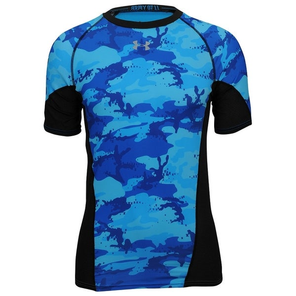 0cdd741d00 Men's Under Armour 1248634 Army Of 11 Football Compression Short Sleeve