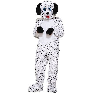 Forum Novelties Dotty the Dalmatian Mascot Adult Costume - Black/White - Standard