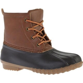 Portland Boot Company Women's Duck Duck Boot Low Cognac