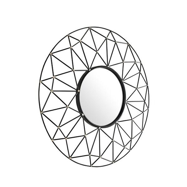 Shop Delacora We Bd36geo Glyph 35 Diameter Circular Beveled Metal