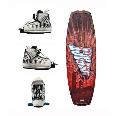 RAVE Sports Jr. Impact Youth Wakeboard with RAVE Boots