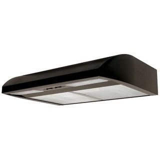 Air King EB30 220 CFM 30 Inch Wide Energy Star Certified Under Cabinet Range Hood with Dual 18 Watt Fluorescent Lights from the