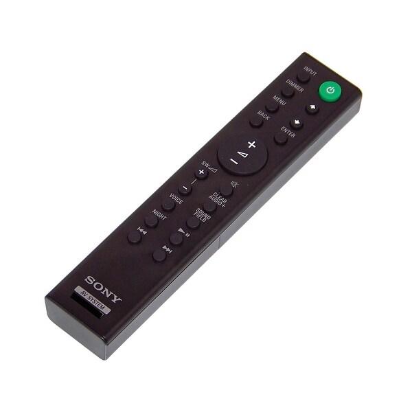 OEM Sony Remote Control Originally Shipped With: SACT390, SA-CT390, SAWRT3, SA-WRT3
