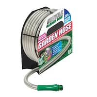 Metal Garden Hose 00380 As Seen on TV Stainless Steel Garden Hose
