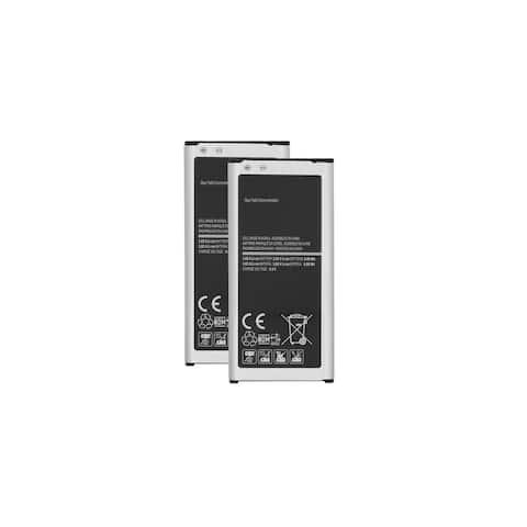 2x Replacement For Samsung GALAXY S5 Mini SM-G800F Battery EB-BG800CBE 2100mAh