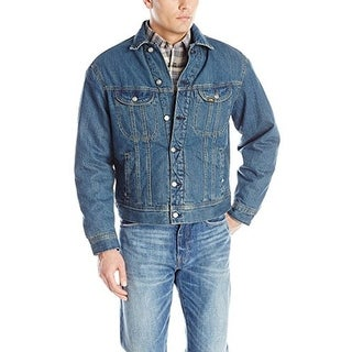 Lee Men's Sherpa-Lined Denim Jacket