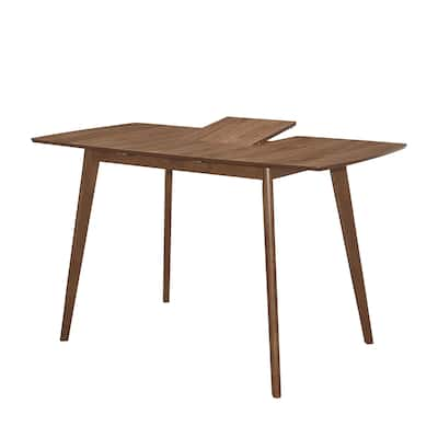Redbridge Natural Walnut Counter Height Table with Butterfly Leaf