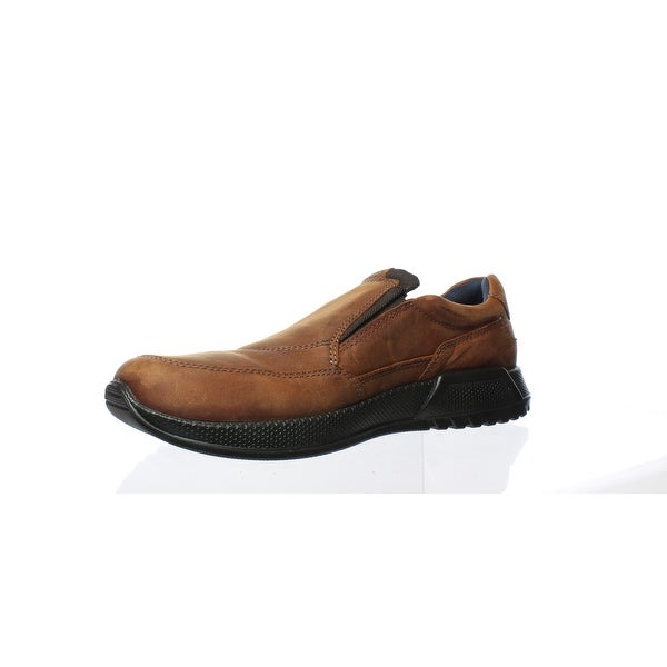 ECCO Mens Luca Cognac Loafers Size 10
