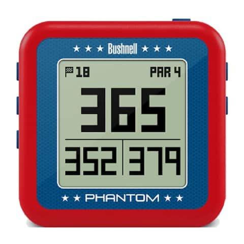 Bushnell Golf GPS Phantom (Red, Refurbished)