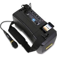 50 Watts Max Wireless PA SYSTEM w/ Mic & iPod Dock