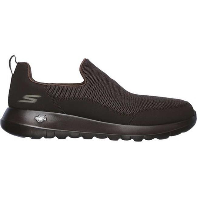 Skechers Men's GOwalk Max Privy Slip on Walking Shoe Chocolate
